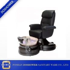 China Body Massager Machine Chair Modern Luxury Spa Pedicure Chairs Pedicure Chair With Crystal Spa Tub factory