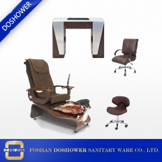 China China wholesale nail salon spa pedicure station pedicure chair nail table of beauty nail salon furniture DS-W21 factory