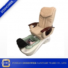 China Doshower Professional Nail and Beauty Supply Cream Pedicure Chair DS-J08 factory