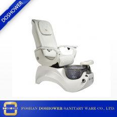 China European pipeless pedicure chairs white spa chairs nail salon furniture factory