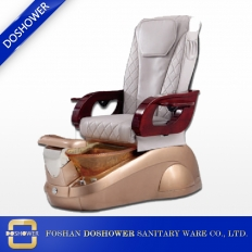 China Fiber basin W1801 with whirlpool pedicure spa chair of massage chair wholesales factory