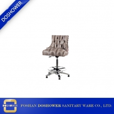 China Hair salon furniture chair with luxury waiting chair for manicur chair nail salon furnitur factory