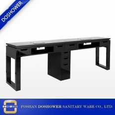 China High quality gloss manicure table manufacturer china nail table of nail salon furniture factory DS-W9603 factory