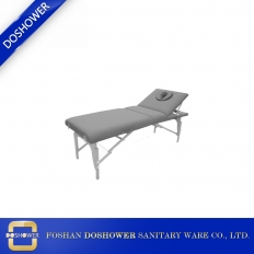 China Hydraulic facial bed with thermal massage bed for spa bed massage table beauty factory