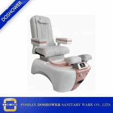 China Modern luxury salon recline back massage Pipeless Whirlpool Spa Pedicure Chair DS-W2001 factory