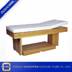 China Multi-function Massage Bed Wooden Spa Massage Bed Facial Bed Treatment Bed factory