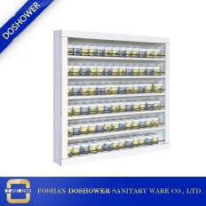 China Nail Salon Furniture Factory Wholesale UV gel Nail Polish Display Rack Supplier China DS-P3 factory