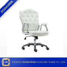 China Nail Salon Manicure Chair Salon Chair and Salon Furniture Style White Color Manicure Chair DS-C535A fabriek