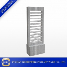 China Nail Salon Nail Polish Rack with led light china nail polish display rack factory DS-W1772 factory