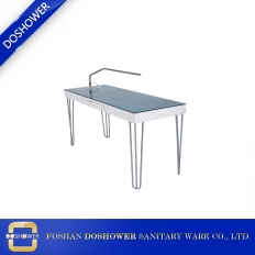 China Nail salon manicure table with manicure table portable manicure table salon furniture factory