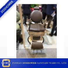 China Original barber chair Hairdressing salon chair Handmade Vintage Design factory