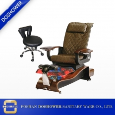 China Quality and luxury Spa Pedicure Chair with massage table factory