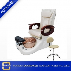 China Salon Spa Pedicure Chair With Pedicure Stool Spa Equipment Wholesale DS-W89 factory