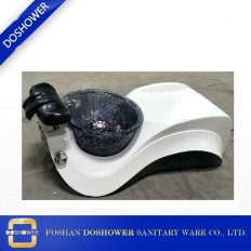 China Salon Spa Sink Pedicure Basin fiberglass bowl foot tub factory
