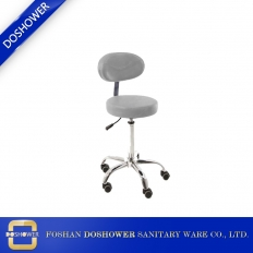 Çin bar stools with back with acrylic bar stool for 	beauty salon stool chair fabrika