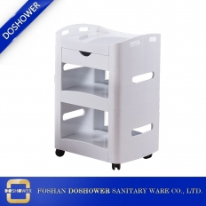 China beauty salon trolley wooden spa cart trolley hair salon trolley wholesale china DS-BT22 factory