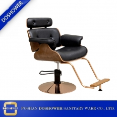 China best high quality barber chair shop chair classic hair salon chair manufacturer china DS-T101 factory