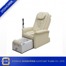 China best quality pedicure spa chair white leather nail portable zero gravity spa massage chair factory