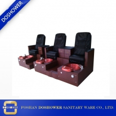 China china hot sale whirlpool massage pedicure chair wood base foot spa pedicure chair wholesale DS-J13 factory