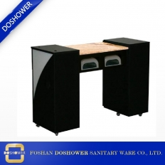China china nail table manufacturer salon nail desk with marble top for sale factory