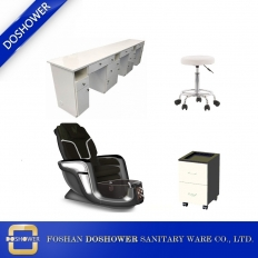 China china pedicure chair and manicure table set pedicure chair package wholesaler DS-W3 SET factory