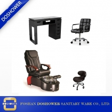 China china pedicure spa chairs new with luxury spa pedicure chair complete pedicure chair package DS-W20 SET factory
