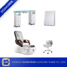 China china spa pedicure chair and manicure table package spa package equipment manufacturer DS-S17H SET factory