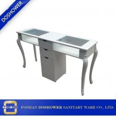 China china used manicure table with nail table factory china for salon nail table suppliers / DS-WT06 factory