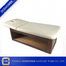 China china wooden massage bed with wood spa massage bed manufacturer of electric massage bed DS-M9007 factory