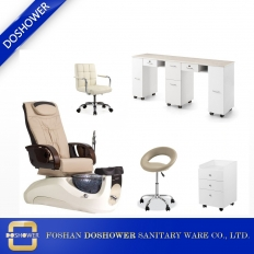 China cream pedicure and manicure package salon spa equipment for sale DS-W1898 SET factory