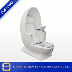 China egg pedicure chair products egg shaped station for massage spa salon factory