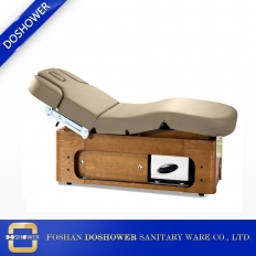 China electric spa massage bed with high end environmentally PU leather massage beauty bed DS-M04A factory