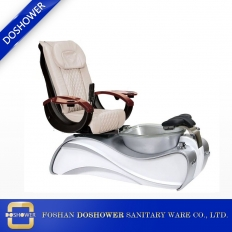 China fiber glass tub pedicure chair luxury nail supplies pedicure chair foot spa manicure pedicure chair 2019 DS-S15A factory