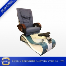 China good quality massage spa pedicure chair with shiny tub basin for beauty salon factory