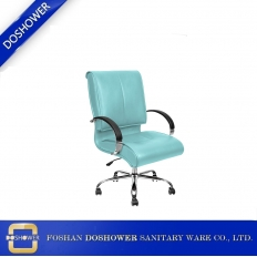 China manicure customer chair supplier china with salon nail table suppliers recption table client chair / DS-W1883-1 factory