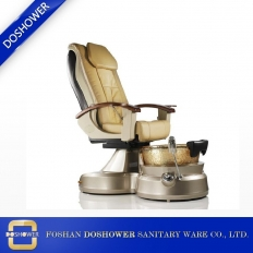La fábrica de China manicure pedicure chair china con masaje de pies oem pedicure spa chair para silla de pedicure no plumbing china