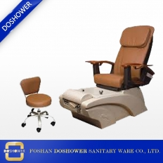 China manicure pedicure chairs supplier of pedicure foot spa massage chair with salon chair on sale DS-RZ838 factory