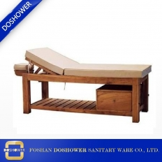 La fábrica de China massage bed  table wooden lay down table of salon furniture wholesale china