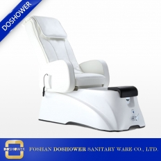 China modern manicure chair with cheap elegant white manicure luxury of pedicure foot spa massage chair DS-1 factory