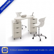 China modern salon manicure table manicure station for sale nail table dust collector factory