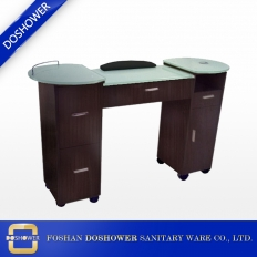 China nail salon table supplier with cheap nail table on sale of nail manicure table manufacturer china factory