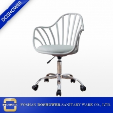 China nail technician chair for nail salon furniture master chair for sale salon technician chair supplies DS-C682 factory