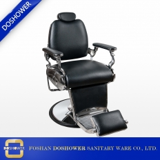 China new black barber chair vintage barber chair for barbershop chairs professional barber chair hair salon DS-T252 factory