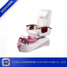 China new hot sale model nail salon white pedicure spa chair with massage for sale DS-O34 factory