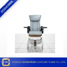 China newest luxury design pedicure chair with led light of shiny foot spa tub base factory