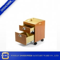 China pedi trolley cart and salon trolley with drawer of pedicure cart for sale DS-TR4 factory
