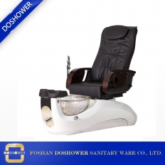 China pedicure spa chair glass bowl with pedicure chair spa of salon spa manicure chair factory