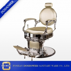 China salon chairs barber classic barber chair for sale golden barber chair supplier china DS-B202 factory