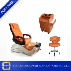 China salon package high quality pedicure chair and manicure table set DS-S17 SET factory
