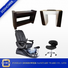 China spa pedicure chair collection doshower pedicure chair package manicure table supplies china DS-W18173A SET factory
